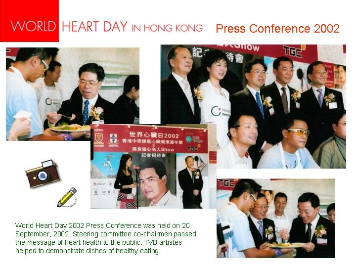 20020930World Heart Day 2002 - Press Conference